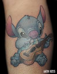 stitch tattoo by aaron kreiss tattoonow
