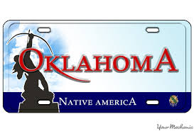 personalized photo plate how to buy a personalized license plate in oklahoma yourmechanic