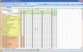 Microsoft Excel Sle Spreadsheets by 9 Wedding Checklist Excel Wedding Spreadsheet