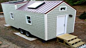 Small Home Design Ideas by Tiny House On Wheels Storage Integrated Huge Skylights Small