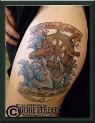37 best anchor and ship wheel tattoo images on pinterest anchors