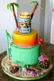 Luau Cake Decorations Luau Cake Sweet Cheeks Custom Cakes