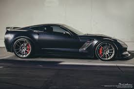 corvette zo6 rims black corvette z06 with smoke black brixton forged wheels gtspirit