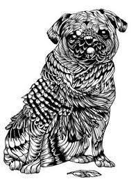 pug yoga sticker pug pug pinterest yoga pup and pug art