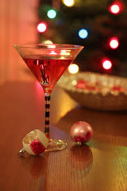 christmas martini a toast to you with poinsettia cocktail punch
