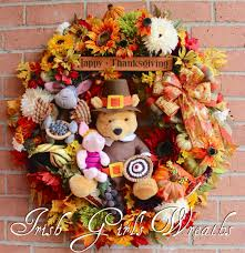 thanksgiving custom irish u0027s wreaths where the difference is in the details