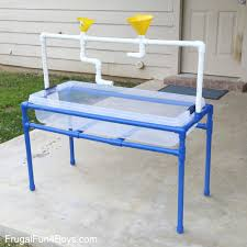 diy sand and water table pvc how to make a pvc pipe sand and water table