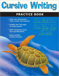 Kids Barnes And Noble Cursive Writing Practice Book Flash Kids Writing Skills Series