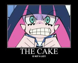 The Cake Is A Lie Meme - demotivational poster image 948887 zerochan anime image board