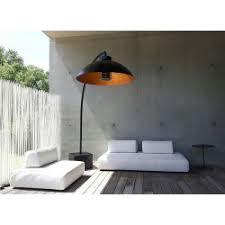 design heizstrahler dome infrarot design terrassenheizstrahler und gartenleuchte