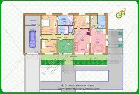 eco friendly homes plans green passive solar house plans 1