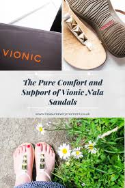 Pure Comfort Footwear The Pure Comfort And Support Of Vionic Nala Sandals