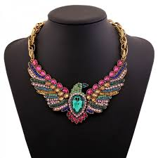 big chunky necklace images Necklace traditional eagle choker women vintage ethnic style big jpeg