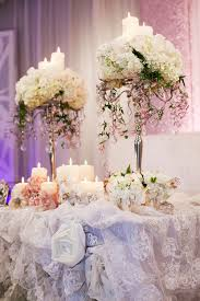 Butterfly Table Centerpieces by Luxurious Sweet Heart Head Table Decor Feminine Romance Plush