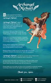 how to clear negative energy archangel michael prayer