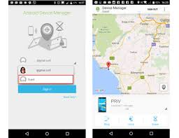 find lock or erase your blackberry priv from android