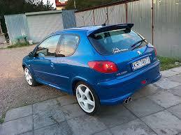 peugeot 206 gti peugeot 206 gti 180 blue power paweł kowalczyk flickr