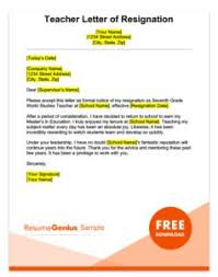 short letter of resignation template resignation letter samples free downloadable letters