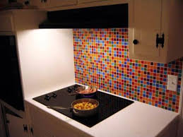 How To Install Kitchen Backsplash Glass Tile Marvelous Kitchens With Glass Tile Backsplash My Home Design Journey