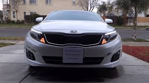 2013 kia optima led fog light bulb k5 optima store 2014 2015 kia optima dual colored quad led fog