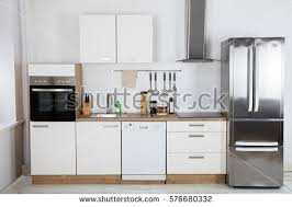Modern Kitchen Interior Cupboard Stock Images Royalty Free Images U0026 Vectors Shutterstock