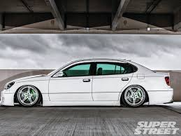 lexus aero wheels 1998 lexus gs 400 super street magazine