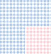 baby gingham reversible gift wrapping roll 24 x 16