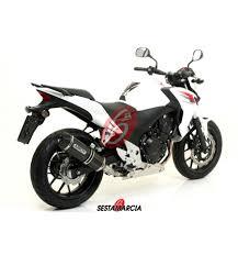 honda cb 500 exhaust arrow race tech approved honda cb 500 f cbr 500 r 2013 15