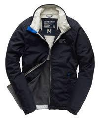 mens polar outdoor jacket in navy superdry