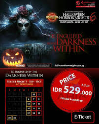 halloween horror nights ticket uss universalstudiossingapore rwsentosa hhn6 on instagram