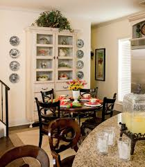 black china hutch kitchen traditional with eat in kitchen eat in