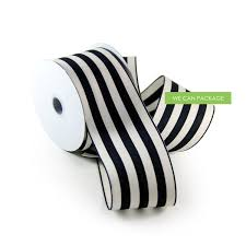 black and white wired ribbon black white weddings party decoration ideas