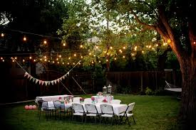 outdoor party lighting home design ideas and pictures