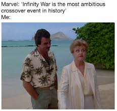 Murder She Wrote Meme - magnum pi murder she wrote infinity war is the most ambitious