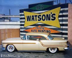 watson outlined u002754 olds custom car chroniclecustom car chronicle