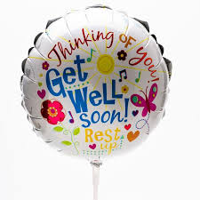 get well soon balloons get well soon balloon sunnybrook gift shop
