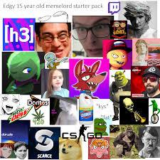 12 Year Old Slut Meme - edgy 15 year old memelord starter pack starterpacks