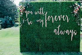 wedding backdrop green 5 creative wedding backdrop ideas wedding styling inspiration