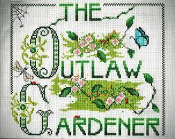 the outlaw gardener fleur de lis garden ornaments