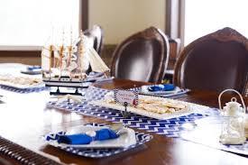 Nautical Themed Dinnerware Sets - kara u0027s party ideas nautical themed baby shower kara