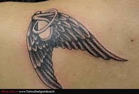 grey ink baby wings