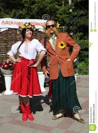 in the ukrainian style actors comedians entertainers in funny