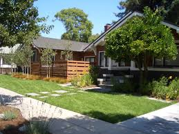 Craftsman Style Patio Wood Fence Ideas Landscape Contemporary With Craftsman Style