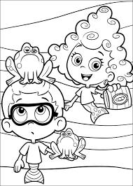 desenhos pintar bubble guppies 30 coloring pages