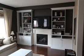 wall units stunning entertainment shelving unit built in