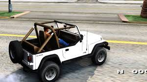 jeep wrangler convertible jeep wrangler convertible gta san andreas youtube