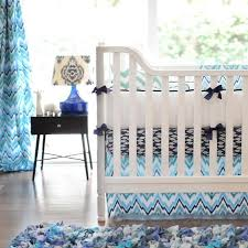 patterned crib bedding