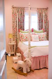 girls four poster beds design reveal classic preppy style project nursery