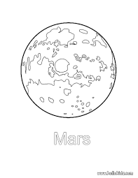mars coloring pages printable images kids aim
