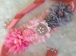 baby shower sash ideas pink and grey maternity sash pink maternity sash maternity sash